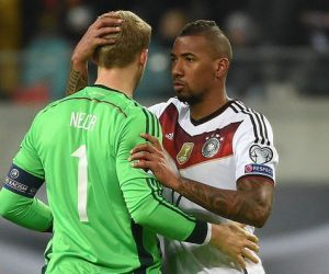 German players Boateng, Neuer in World Cup fitness race