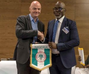 FIFA only recognises Pinnick as NFF president – Infantino