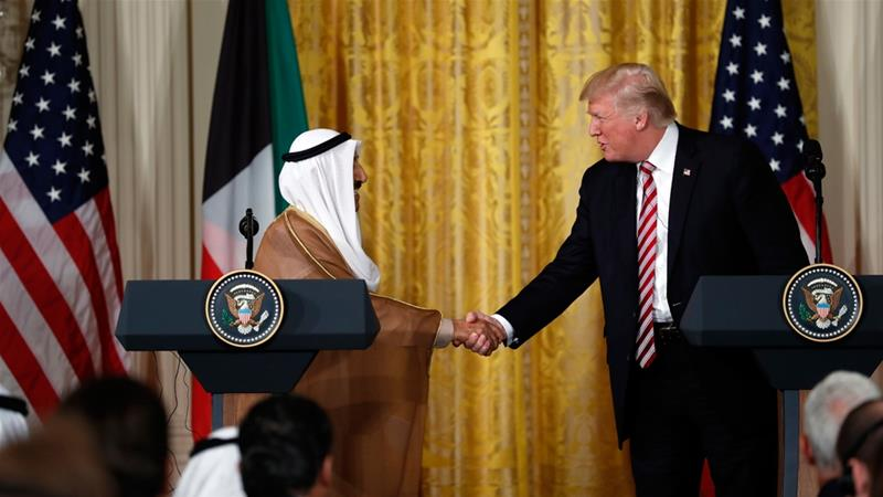 Trump speaks to Qatar emir on Gulf unity, terrorism fight: White House