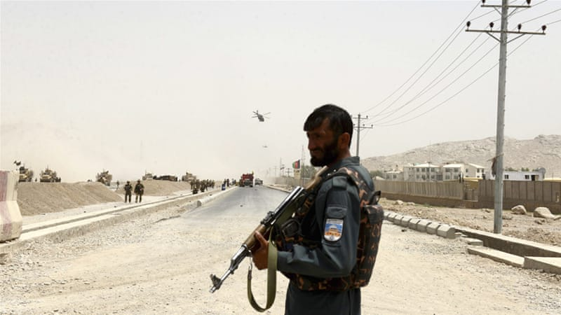 Taliban Bomb Afghan Military Base In Kandahar