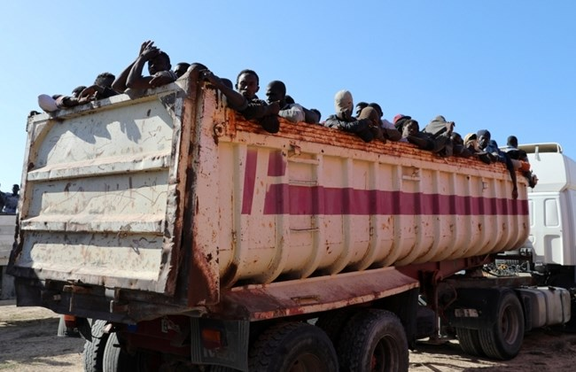 Migrants killed in Libyan truck accident