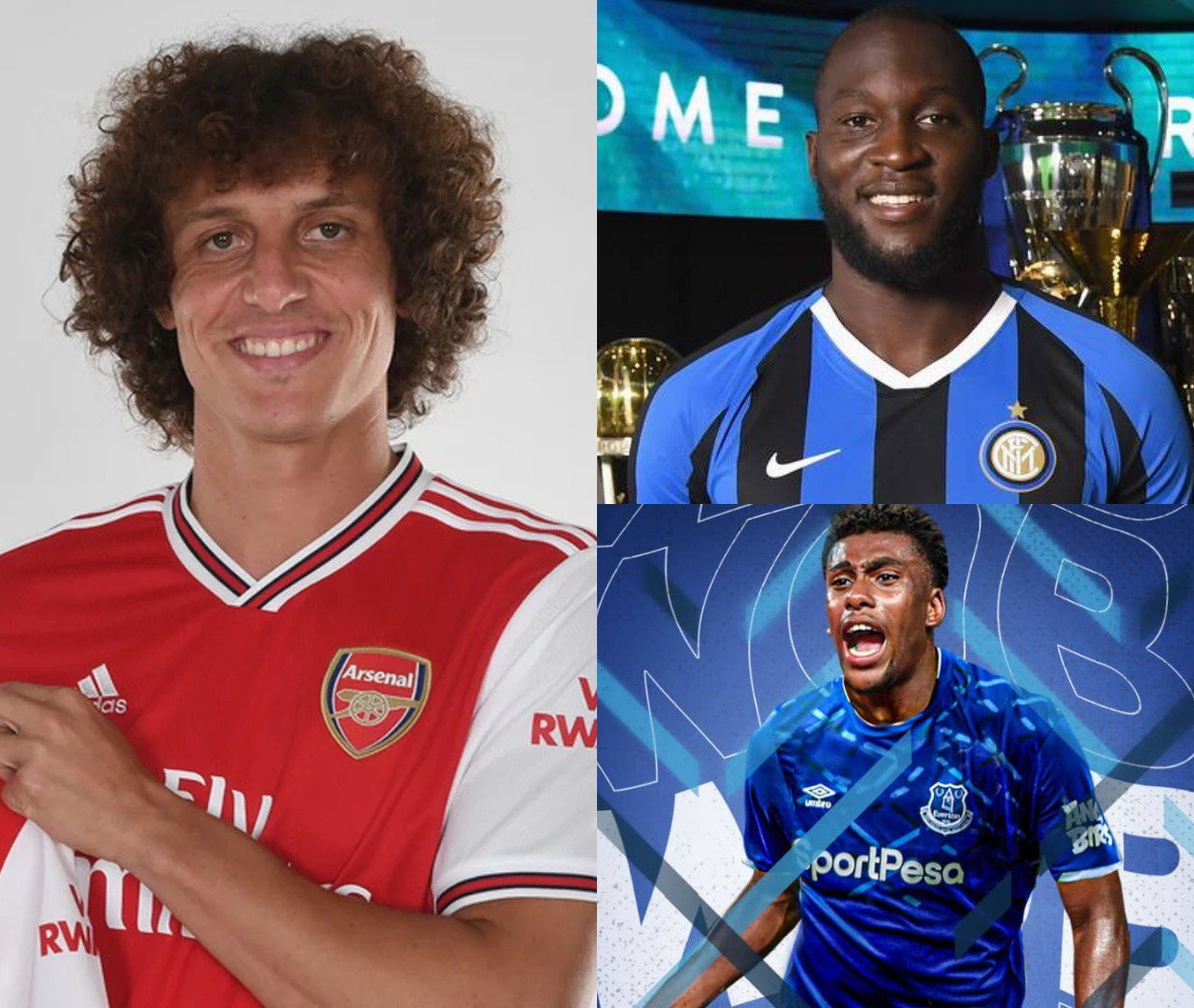 Deadline Day All The Transfers As They Happened: Transfer Deadline Day: Luiz, Lukaku, Iwobi And All Major