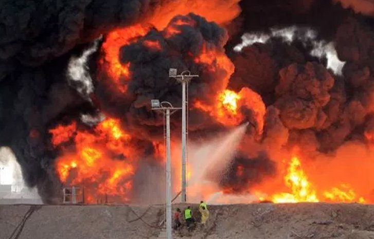 Image result for One person killed as Pipeline explodes in Egbe, Lagos
