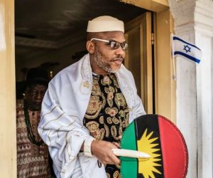 Court orders Sen. Abaribe, others to pay N100m over Nnamdi Kanu's absence