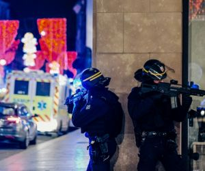 Three killed at popular French market, massive manhunt for shooter on-the-run