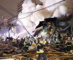 Powerful explosion in Japanese restaurant leaves 42 injured, cause under investigation