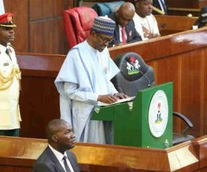 Boos and Applause as Buhari presents N8.83 trillion 2019 budget to National Assembly