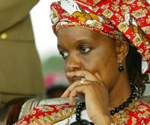 Mugabe's wife Grace wanted for 2017 assault by South African police