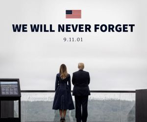 9/11: Donald Trump's picture tweet sparks outrage