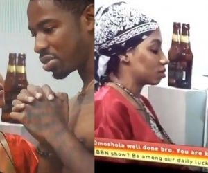 BBNaija: What Ike told Tacha about relationship with Mercy (VIDEO)
