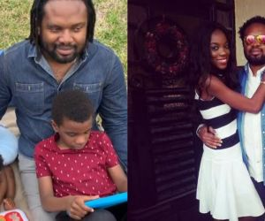 Cobhams Asuquo's Wife Opens Up On How Their First Son Was Born Blind (Video)