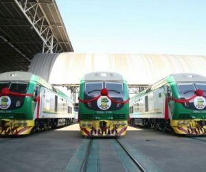 Amaechi Inspects Trains Built For Nigeria In China, Takes Delivery Of New Trains