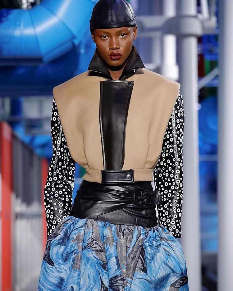 16-Year-Old Janet Jumbo Is The 1st Nigerian Model To Walk For Louis Vuitton.