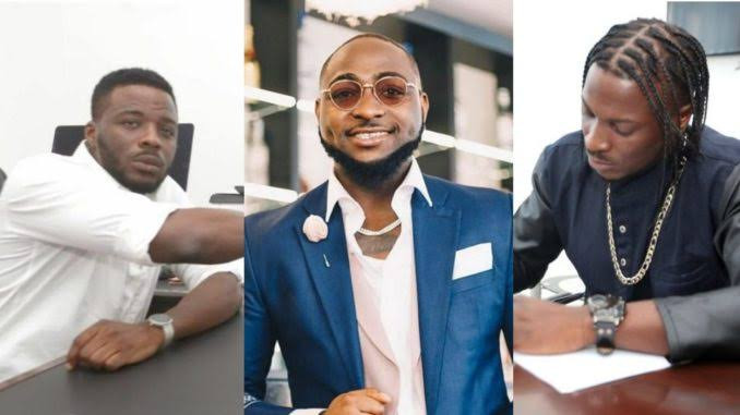 Peruzzi's ex-boss releases proof to show that singer owns the song FIA and not Davido