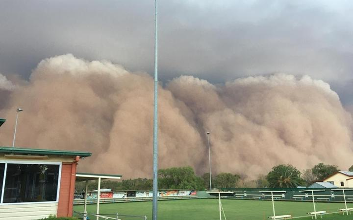 After fire, dust, hail take over Australia