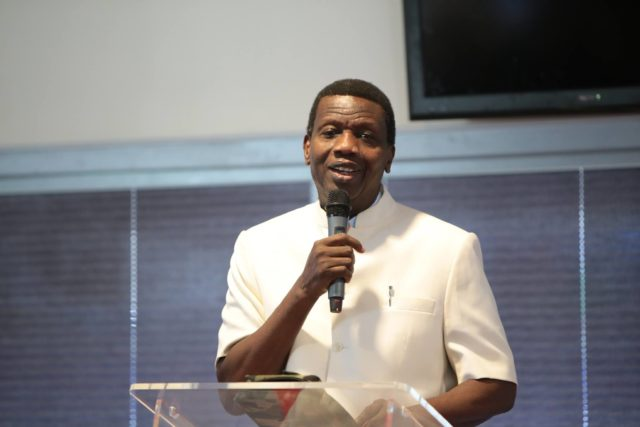 Men should not marry women who can't cook - Pastor Adeboye