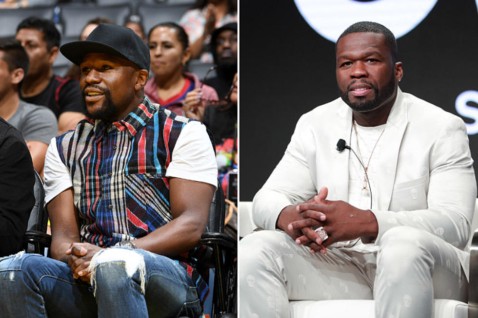 Mayweather replies 50 Cent's on claims that he is broke
