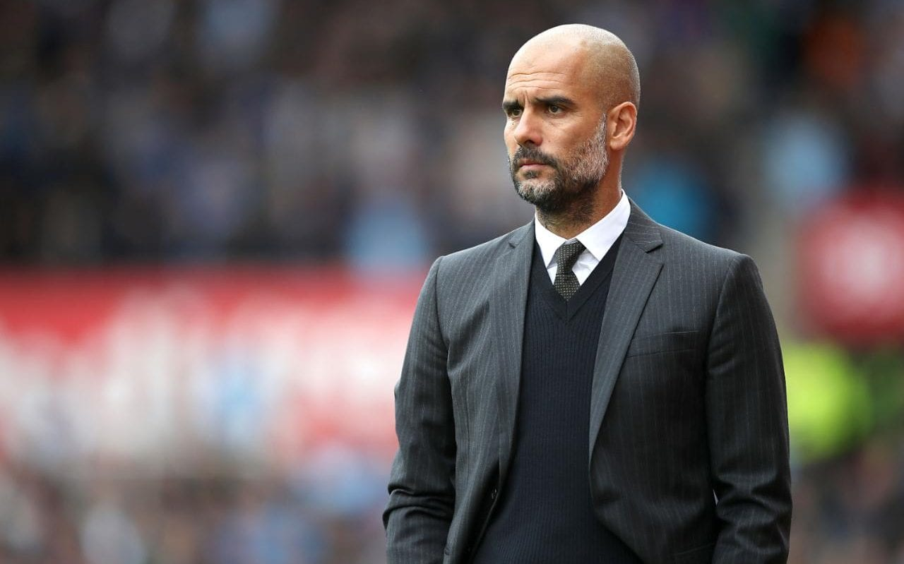 Pep Guardiola fire back at Barcelona president over UEFA ban comment
