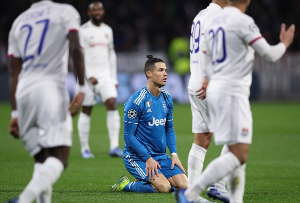 Juventus suffer defeat in France as Ronaldo fail to score