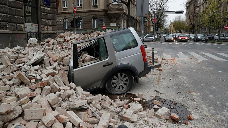 5.3 Magnitude Earthquake Hits Zagreb in Croatia (Pictures)